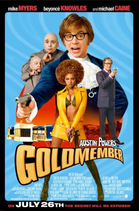 Austin Powers Gold Member